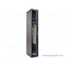 Шкаф для раздевалок антивандальный MLH-01-30 доп модуль