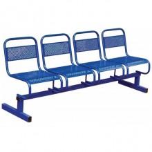 Секция стульев 4-х местная, 199x53x82 см, М112-01