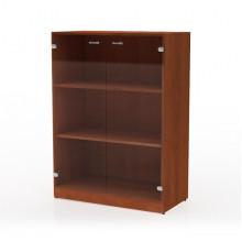 Шкаф со стеклом 3-го уровня, 90x45,7x123,8 см, Д22