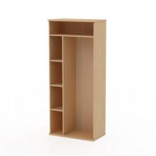 Шкаф-гардероб без дверей, 80,6x43,6x185,8 см, Т490С