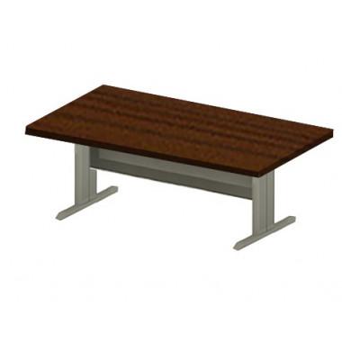 Конференц-стол на металлокаркасе, 220x120x76 см, EM131