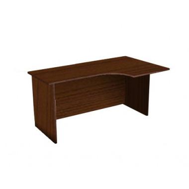 Стол угловой с низкой царгой, 160x90x76 см, CT3-16R/Lиу