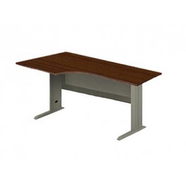Стол угловой на металлокаркасе, 140x110x76 см, EM125R/L