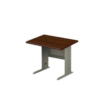 Стол прямой на металлокаркасе, 80x80x76 см, ЕМ-107