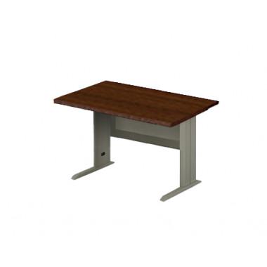Стол прямой на металлокаркасе, 130x80x76 см, ПЕМ-111