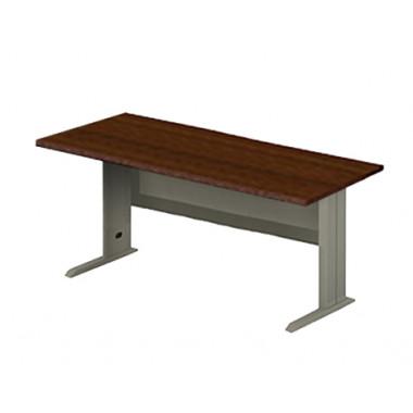 Стол прямой на металлокаркасе, 160x80x76 см, ПЕМ-115