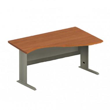 Стол с ассиметричной столешницей на м/к, 140x110x76 см, EM-145R/L