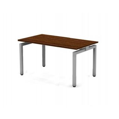 Стол прямой на металлокаркасе, 130x80x76 см, ПER02.0908