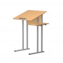 Стол ученический 1-местный для черчения и рисования СТЧр1.46