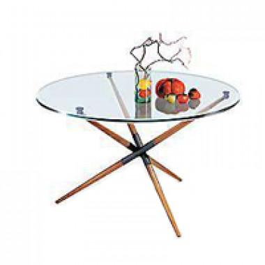 Журнальный стол, d=85x56 см, Дельта-1н