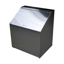 Ларь для белья, 800х590х940(600)мм, разборный, нерж. сталь, ВЛБ-1НР