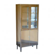 Шкаф медицинский 800*400*1605 мм, ВШМ 2-2 Н