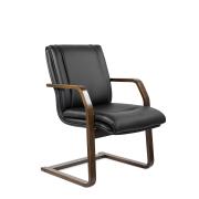 Конференц-стул низкий Артекс МЛТ/St/К/О, экокожа