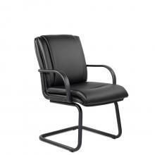 Конференц-стул низкий Артекс МЛТ/St/ПЛ/О, экокожа