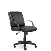 Кресло руководителя низкое Артекс ПЛ St, экокожа