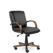 Кресло руководителя низкое Артекс К St, экокожа
