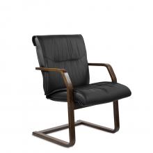Конференц-стул низкий Бона К/St/О, экокожа