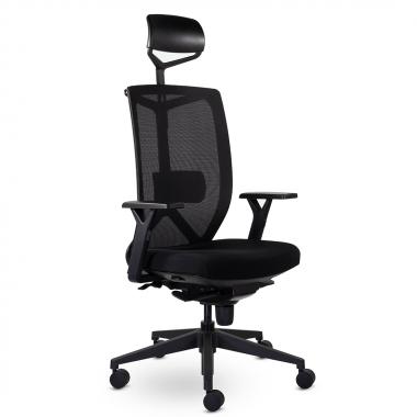 Кресло для персонала Профи М-900 BLACK PPL
