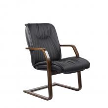Конференц-стул низкий Свинг К/St/О, кож/зам Z-01