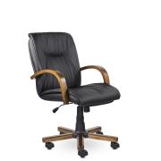 Кресло руководителя низкое Свинг К St, кож/зам Z-01