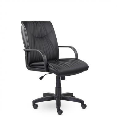 Кресло руководителя низкое Свинг ПЛ St, кож/зам Z-01