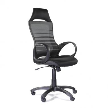 Кресло для персонала Тесла М-709 BLACK PL