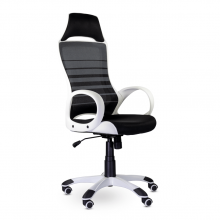 Кресло для персонала Тесла М-709 WHITE PL