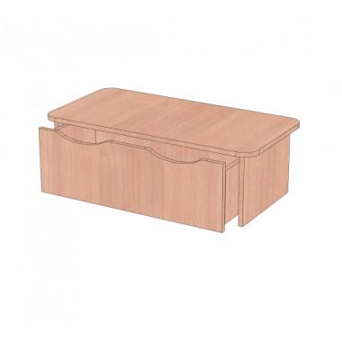 Банкетка в раздевалку с ящиком