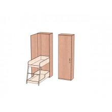 Шкаф с 2-ярусной откидной кроватью