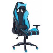 Игровое компьютерное кресло (геймерское) EVERPROF Lotus S16 PU Голубой