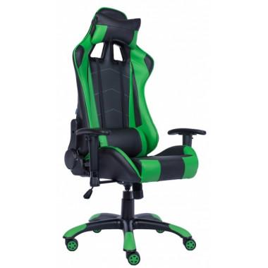 Игровое компьютерное кресло (геймерское) EVERPROF Lotus S9 PU Зеленый