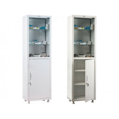 Шкаф металлический МД 1 1650/SG