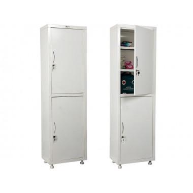 Шкаф металлический МД 1 1650/SS