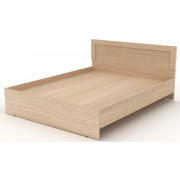 Двойная кровать деревянная, 165,2x204,6x90 см, N001/1