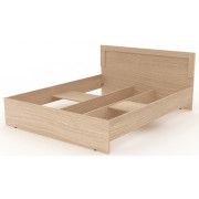 Двойная кровать деревянная, 165,2x204,6x90 см, N001