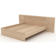 Двойная кровать деревянная, 269,6x204,6x90 см, N002/1