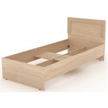 Одинарная кровать деревянная, 95,2x204,6x90 см, N003