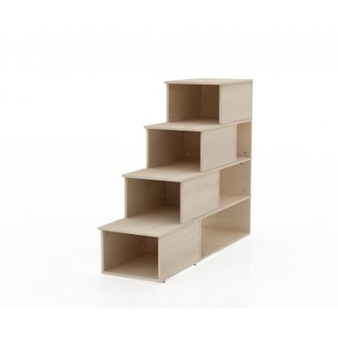 Тумба-лестница, 45x150x122,5 см, СП540 слимпи