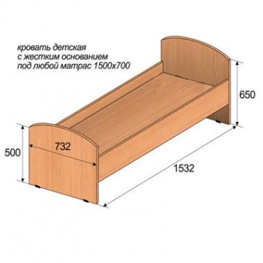 Кровать детская ДС.018