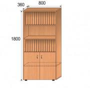 Шкаф для журналов, 800x360x1800мм, ФМШ02