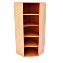 Шкаф для документов угловой, 726x726x1800мм, ФШД13