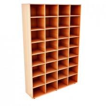 Шкаф картотечный, 1200x300x1800мм, ФШК01