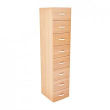 Шкаф картотечный, 400x450x1800мм, ФШК10