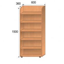 Шкаф детский, 600x360x1500мм, ФДС01