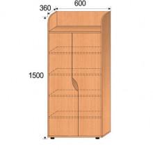 Шкаф детский, 600x360x1500мм, ФДС02