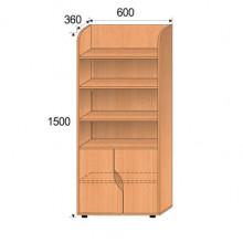 Шкаф детский, 600x360x1500мм, ФДС04