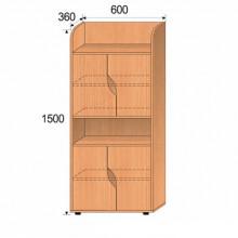 Шкаф детский, 600x360x1500мм, ФДС05