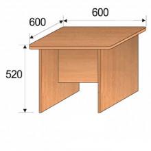Стол детский, 600x600x520мм, ФДС14