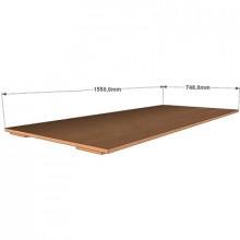 Крышка к четырехъярусной кровати, 1550x748x32мм, ФДС25