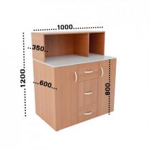 Мини-кухня, 1000x600x1200(850)мм, ФМК01
